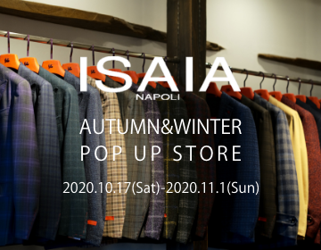ISAIA POP UP STORE