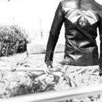 SOUTH PARADISO LEATHER (サウスパラディソレザー) EAST WEST(イーストウエスト) ILLUMINATI RAINBOW SHIRTS(イルミナティレインボーシャツ) レザーシャツ BLACK(ブラック)のイメージ