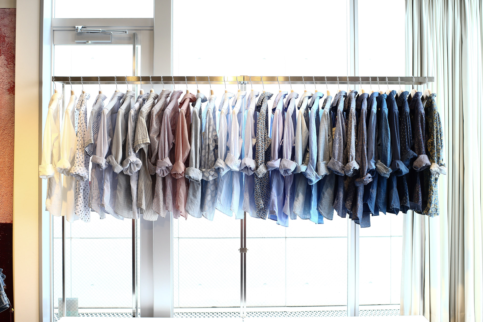 Glanshirt グランシャツ リゾートシャツ イタリシャツ リラックスシャツ  Alto e Diritto 名古屋 取扱い 2017年 春夏 展示会