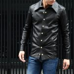 South Paradiso Leather(サウスパラディソレザー) East West(イーストウエスト) ILLUMINATI RAINBOW SHIRTS(イルミナティレインボーシャツ) レザーシャツ BLACK(ブラック)のイメージ