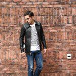 South Paradiso Leather(サウスパラディソレザー) East West イーストウエスト SMOKE スモーク レザージャケット BLACK(ブラック)のイメージ