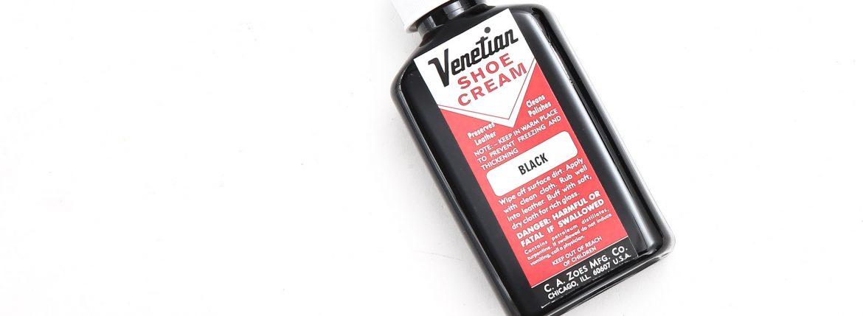 VENETIAN CREAM(ベネチアンクリーム) VENETIAN SHOE CREAM(ベネチアンシュークリーム) BLACK(ブラック)のイメージ
