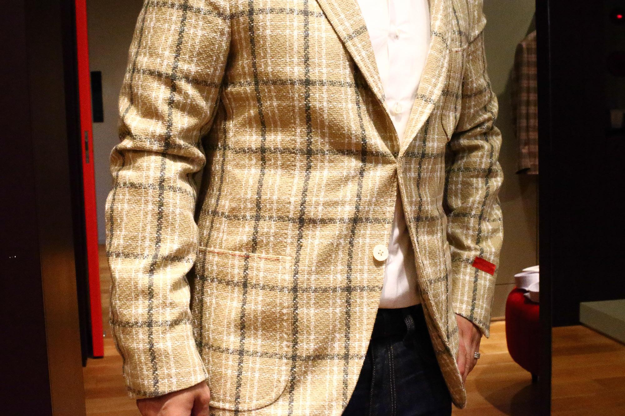 ISAIA イザイア 2017年 春夏 展示会 愛知 名古屋 Alto e Diritto アルト エ デリット 取扱い ジャケットスタイル提案