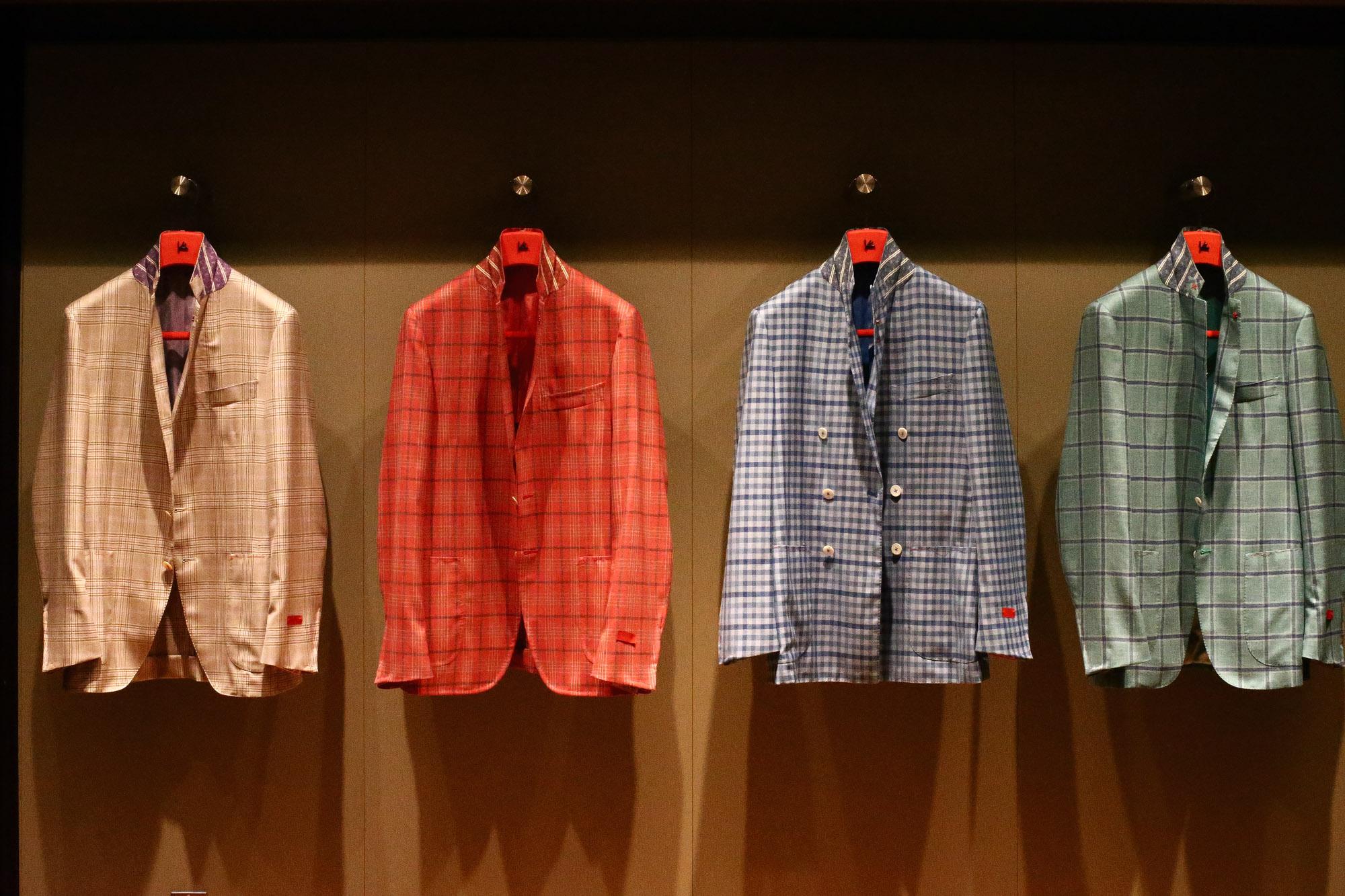 ISAIA イザイア 2017年 春夏 展示会 愛知 名古屋 ZODIAC 取扱い ジャケットスタイル提案