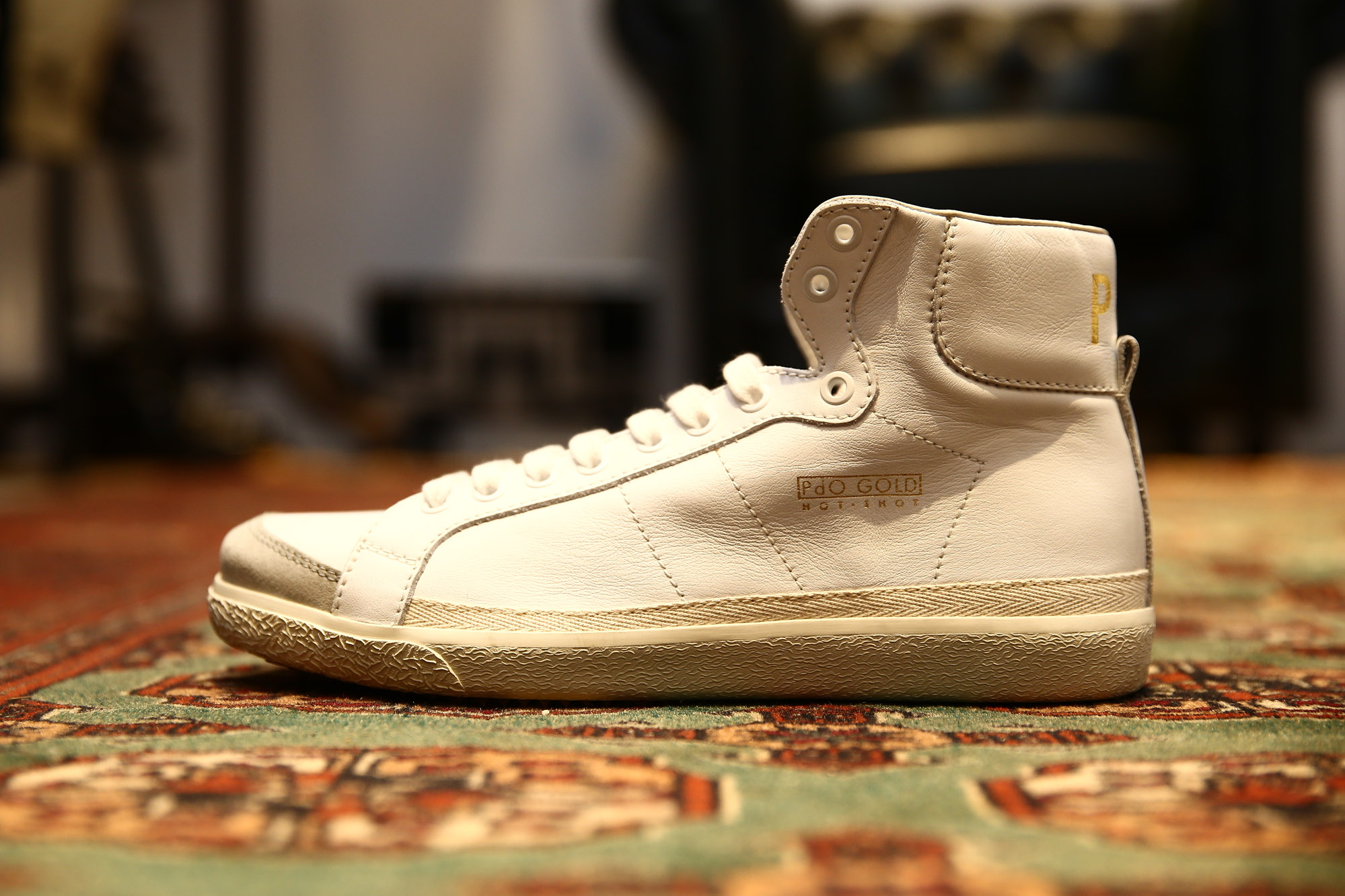 Pantofola d'Oro  パントフォラドーロ スニーカー PG75 WHITE ホワイト PG72 ホワイト/レッド ホワイト/グリーン 愛知 名古屋 ZODIAC ゾディアック 取扱い