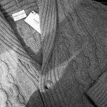 Settefili Cashmere(セッテフィーリ カシミア) Shawl Collar Cardigan ウール カシミア ローゲージ ニットカーディガン ショールカラーカーディガン GREY (グレー・MC009) made in italy(イタリア製) 2016 秋冬新作のイメージ