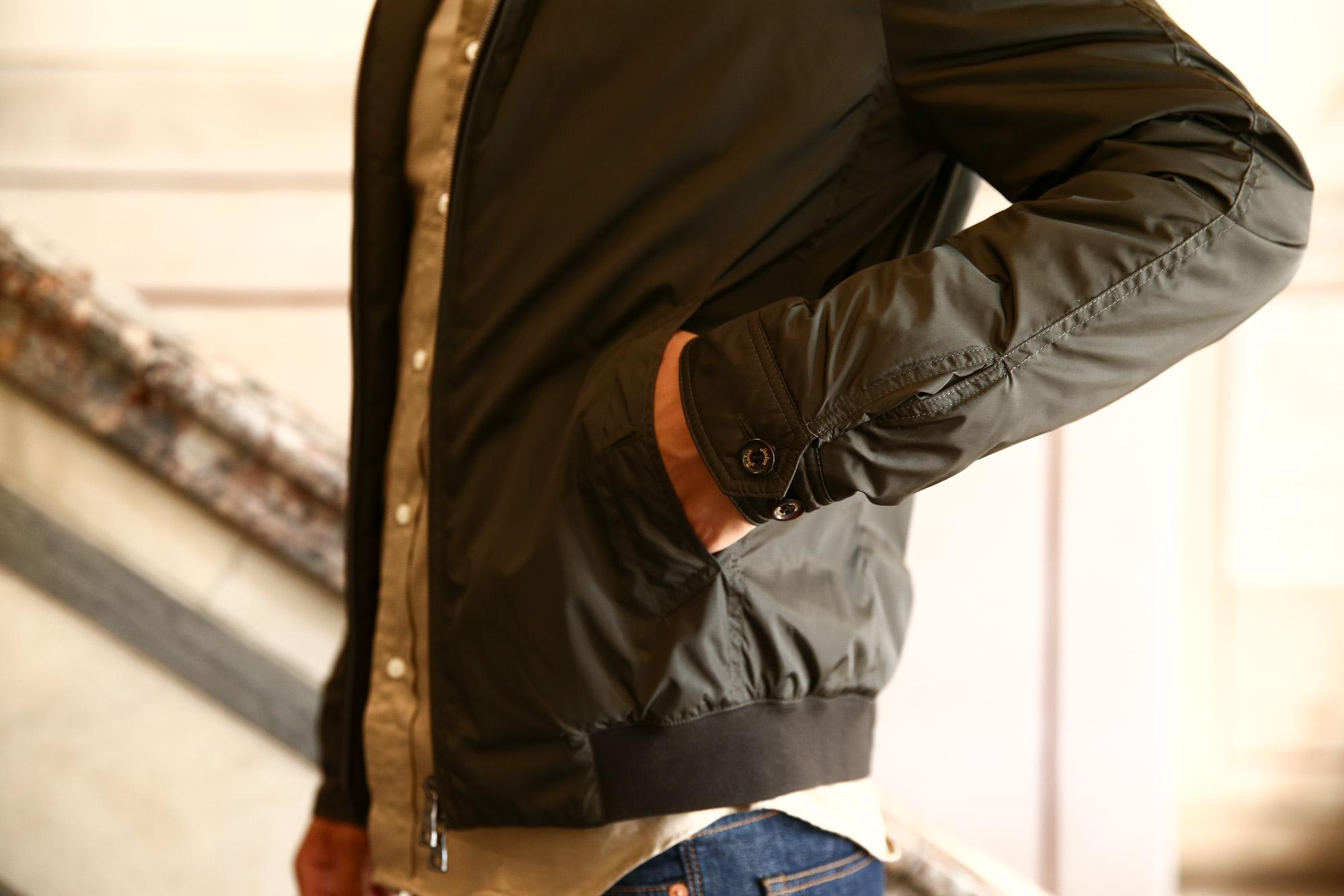 Sealup (シーラップ) Bomber Jacket ボンバージャケット 7578 9683 中綿入り ボマージャケット ナイロンジャケット KHAKI (カーキ・14) MADE IN ITALY 2016 秋冬新作 のコーディネート画像。愛知 名古屋 Alto e Diritto アルト エ デリット LEON レオン シーラップ 名古屋