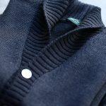 ZANONE (ザノーネ) Shawl Collar Cardigan 811947 Z0229 VIRGIN WOOL 100% ミドルゲージニット ショールカラーカーディガン CHARCOAL (チャコール・Z0006) MADE IN ITALY 2016 秋冬新作のイメージ