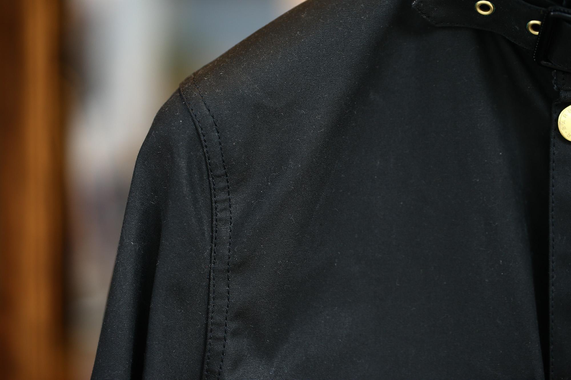 Barbour (バブアー) INTERNATIONAL JACKET SL (インターナショナル ジャケット エスエル) ワックスコットン オイルドコットン スリムフィット オイルドジャケット BLACK (ブラック・BK11) Made in England (英国製) 2016 秋冬新作 愛知 名古屋ZODIAC ゾディアック バブワー バヴアー 32,34,36,38,40,42
