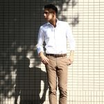 Glanshirt (グランシャツ) JWEEN G6971 OXFORD COTTON 100% オックスフォードシャツ WHITE (ホワイト・001) MADE IN ITALY(イタリア製) 2016 秋冬新作のイメージ