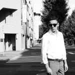 Han Kjobenhavn(ハンコペンハーゲン) TIMELESS CLIP ON タイムレス クリップオン ボストンタイプ 丸形レトロデザイン サングラス AMBER/SUN(GREEN)(アンバー/サン・グリーン) MADE IN ITALY(イタリア製)のイメージ