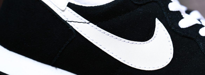 NIKE(ナイキ) CHALLENGER チャレンジャー 725066 006 スウェードレザー スニーカー BLACK/WHITE(ブラック/ホワイト) 2016 秋冬新作のイメージ