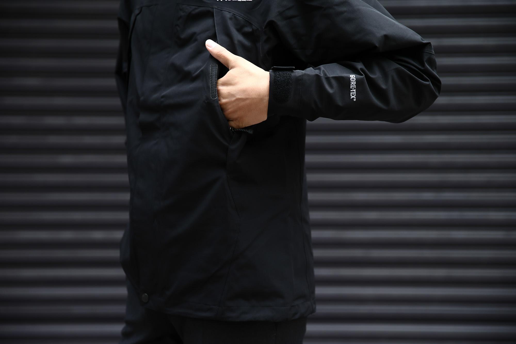 THE NORTH FACE (ザ・ノースフェイス) Mountain Jacket (マウンテンジャケット) GORE-TEX ゴアテックスジャケット 防水シェルジャケット マウンテンパーカー BLACK (ブラック・K)【NP61540/K】2016 秋冬新作 のコーディネート画像。S,M,L,XL 愛知 名古屋 Alto e Diritto アルト エ デリット マウンパ シェル ノースフェイス