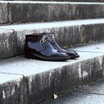 ENZO BONAFE (エンツォボナフェ) ART.3722 Chukka boots Horween Shell Cordovan Leather ホーウィン社 シェルコードバンレザー レザーブーツ コードバンブーツ チャッカブーツ No.8 (バーガンディー) made in Italy(イタリア製)のイメージ