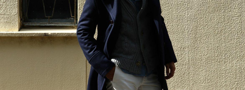 Sealup (シーラップ) GENOVA ジェノバ 50002 7591 01 サーモアライニング メルトンウール Pコート ロングピーコート NAVY (ネイビー・01) MADE IN ITALY(イタリア製) 2016 秋冬新作のイメージ