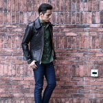 South Paradiso Leather(サウスパラディソレザー) East West イーストウエスト WINCHESTER ウィンチェスター Cow Hide Leather カウハイドレザー レザージャケット DARK BROWN(ダークブラウン) MADE IN USA(アメリカ製)のイメージ