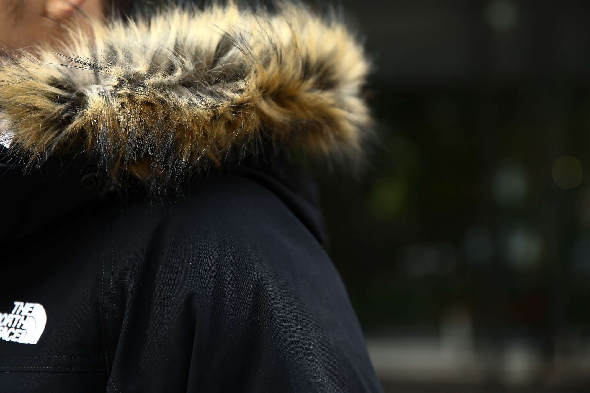THE NORTH FACE (ザ・ノースフェイス) McMurdo Parka マクマードパーカー CEBONNER OX 600フィルダウン ファーフーディー ダウンジャケット BLACK (ブラック・K) 2016 秋冬新作 のコーディネート画像。愛知 名古屋 ZODIAC ゾディアック ノースフェイス マクマードパーカー ダウン 登山 アウトドア 南極