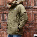 THE NORTH FACE (ザ・ノースフェイス) McMurdo Parka マクマードパーカー CEBONNER OX 600フィルダウン ファーフーディー ダウンジャケットNEW KHAKI (ニューカーキ・NK)  2016 秋冬新作のイメージ