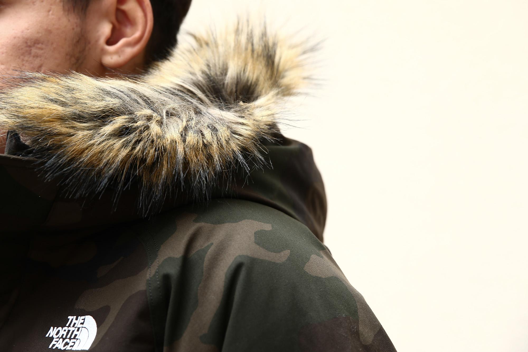 THE NORTH FACE (ザ・ノースフェイス) McMurdo Parka マクマードパーカー CEBONNER OX 600フィルダウン ファーフーディー ダウンジャケットWOODLAND (ウッドランド・WC)  2016 秋冬新作 のコーディネート画像。愛知 名古屋 ZODIAC ゾディアック ノースフェイス マクマードパーカー ダウン 登山 アウトドア 南極