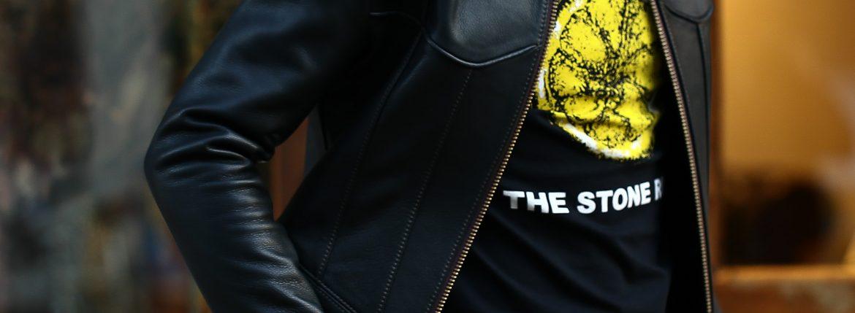 Worn By (ウォーンバイ) STONE ROSES LEMON ストーンローゼス レモン The Stone Roses ザ・ストーン・ローゼズ ロックTシャツ バンドTシャツ BLACK (ブラック) 2016 秋冬新作のイメージ