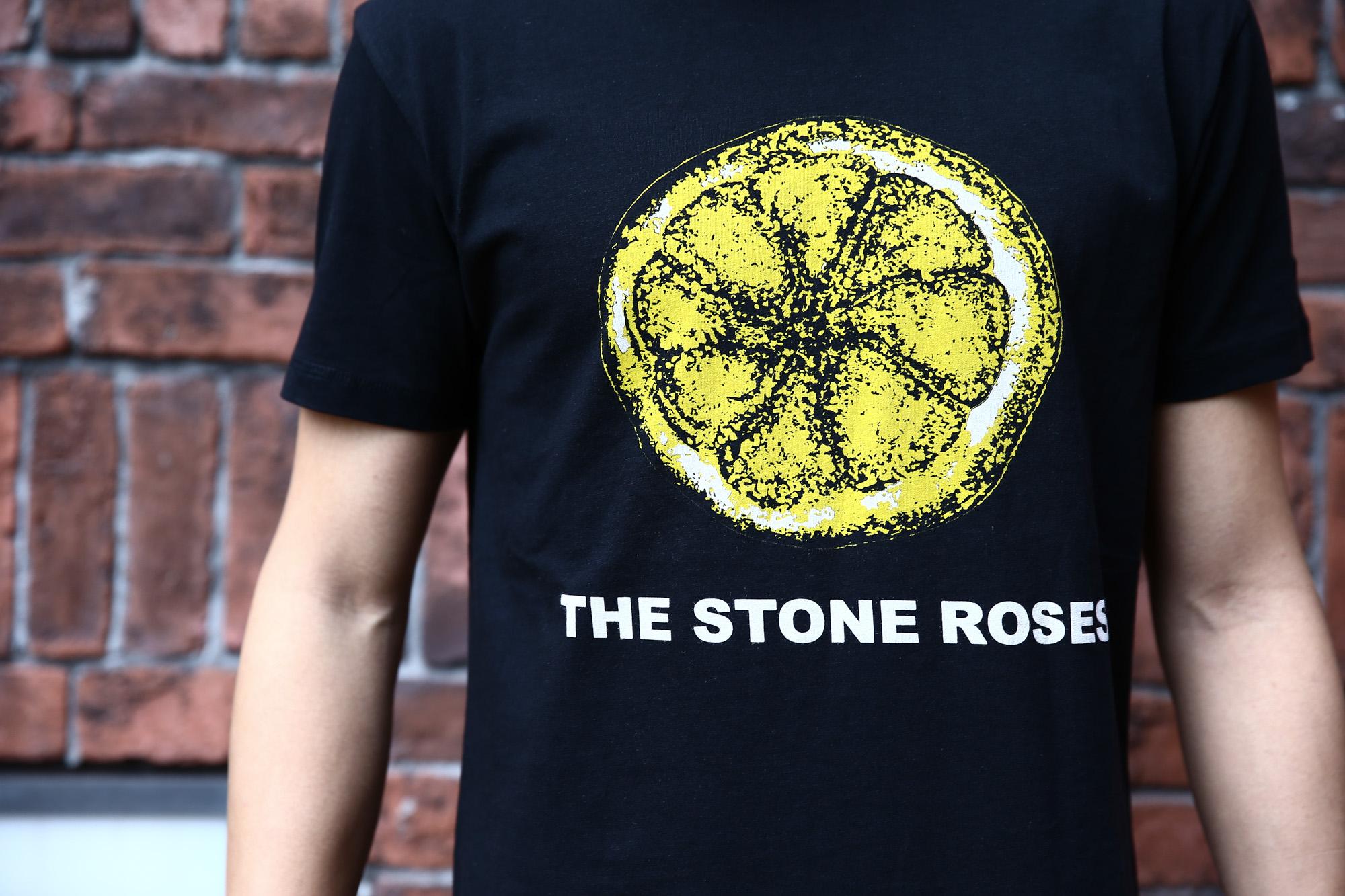 Worn By (ウォーンバイ) STONE ROSES LEMON ザ・ストーンローゼス レモン The Stone Roses ストーン・ローゼズ プリントTシャツ ロックTシャツ バンドTシャツ BLACK (ブラック)  2016 秋冬新作 XS,S,M コーディネート画像。 愛知 名古屋 Alto e Diritto アルト エ デリット バンドT ロックT プリントT ウォーンバイ ライセンスTシャツ VAN バン 名古屋