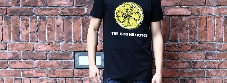 Worn By (ウォーンバイ) STONE ROSES LEMON ザ・ストーンローゼス レモン The Stone Roses ストーン・ローゼズ プリントTシャツ ロックTシャツ バンドTシャツ BLACK (ブラック) 2016 秋冬新作 XS,S,M コーディネート画像。 愛知 名古屋 ZODIAC ゾディアック バンドT ロックT プリントT ウォーンバイ ライセンスTシャツ VAN バン 名古屋