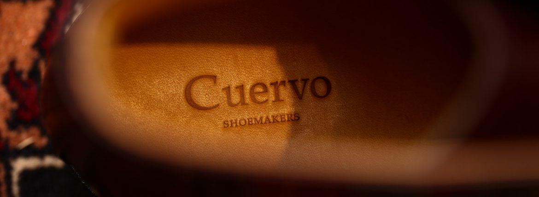Cuervo (クエルボ) Romeo (ロメオ) Annonay Vocalou Calf アノネイ社 ボカルーカーフ Leather Sole レザーソール Goodyear Welt Process ドレスシューズ セミドレスブーツ レザーブーツ BURGUNDY (バーガンディー・WN) MADE IN JAPAN(日本製) 2017 春夏新作のイメージ