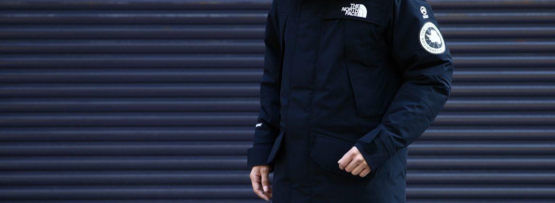 THE NORTH FACE (ザ・ノースフェイス) ANTARCTICA Parka (アンタクティカパーカ) Nylon Tussah GORE-TEX(2層) ゴアテックスジャケット シェルダウンジャケット BLACK / BLACK (ブラック/ブラック・KK)  ND91601K  2016 秋冬新作のイメージ