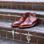 ENZO BONAFE (エンツォボナフェ) ART.3722 Chukka boots チャッカブーツ Bonaudo Museum Calf Leather ボナウド社 ミュージアムカーフレザー ノルベジェーゼ製法 レザーソール チャッカブーツ NEW GOLD (ニューゴールド) made in Italy(イタリア製)のイメージ