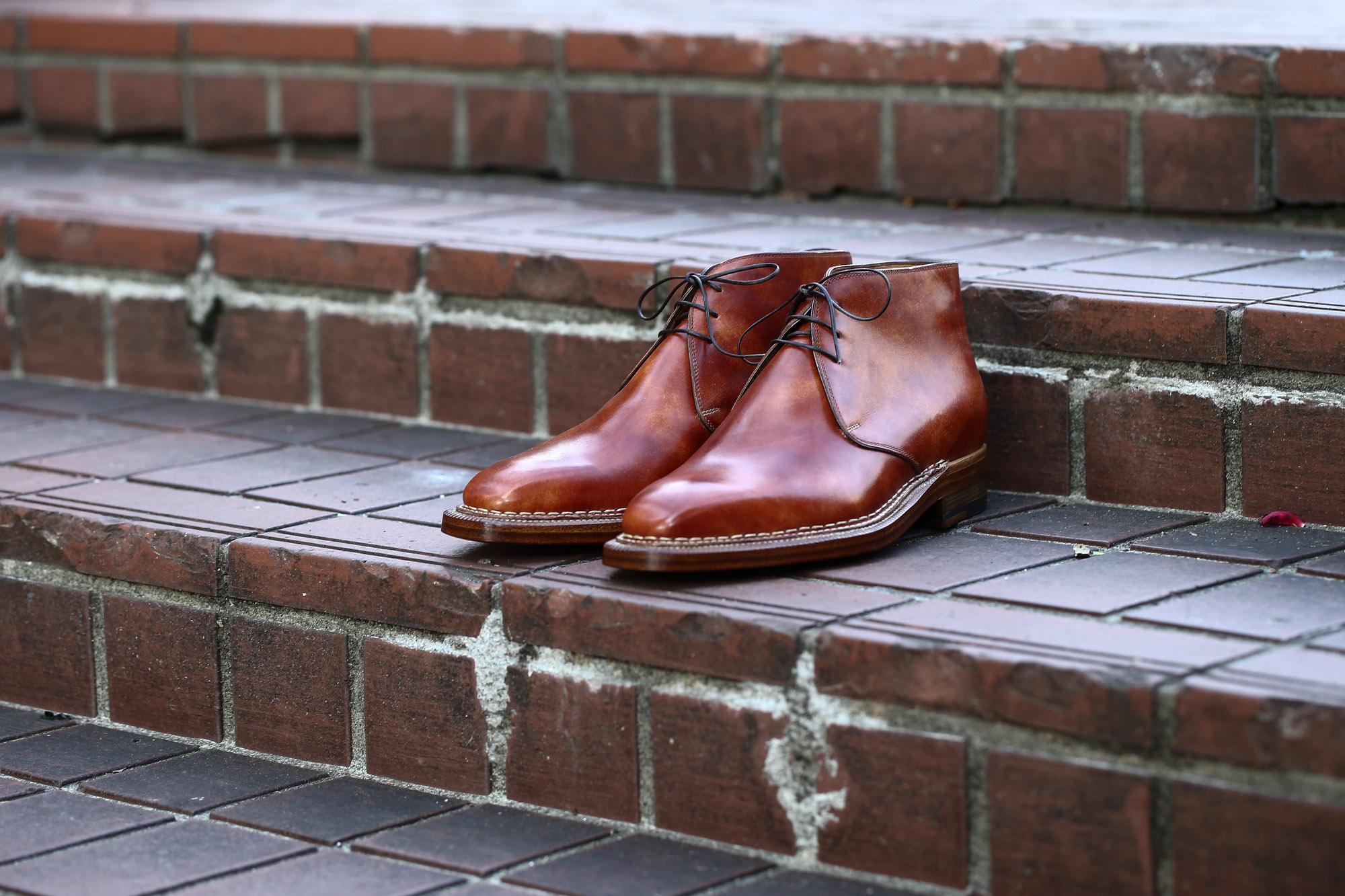 ENZO BONAFE (エンツォボナフェ) ART.3722 Chukka boots チャッカブーツ Bonaudo Museum Calf Leather ボナウド社 ミュージアムカーフレザー ノルベジェーゼ製法 レザーソール チャッカブーツ NEW GOLD (ニューゴールド) made in Italy(イタリア製) 2017 春夏新作 愛知 名古屋 Alto e Diritto アルト エ デリット エンツォボナフェ ボナフェ ベネチアンクリーム JOHN LOBB ジョンロブ CHURCH'S チャーチ JOSEPH CHEANEY ジョセフチーニー CORTHAY コルテ ALFRED SARGENT アルフレッドサージェント CROCKETT&JONES クロケットジョーンズ F.LLI GIACOMETTI フラテッリジャコメッティ ENZO BONAFE エンツォボナフェ BETTANIN&VENTURI ベッタニンヴェントゥーリ JALAN SRIWIJAYA ジャランスリウァヤ J.W.WESTON ジェイエムウエストン SANTONI サントーニ SERGIO ROSSI セルジオロッシ CARMINA カルミナ