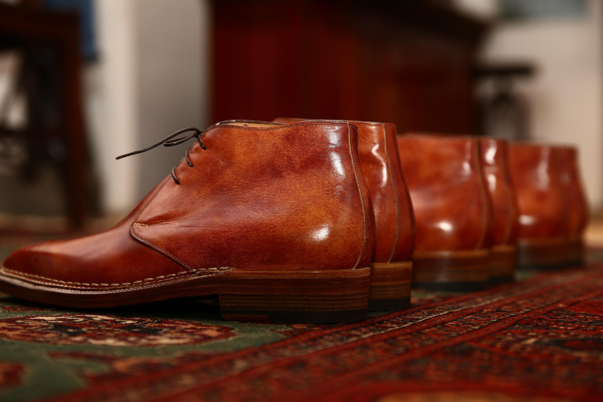 Enzo Bonafe エンツォボナフェ Art 3722 Chukka Boots チャッカブーツ