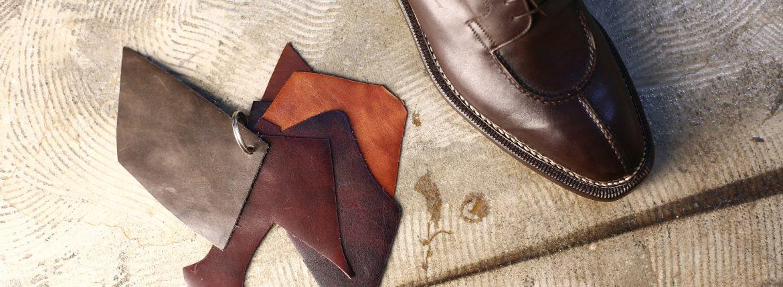 ENZO BONAFE(エンツォボナフェ) BERING(ベーリング) Bonaudo Museum Calf Leather(ボナウド社ミュージアムカーフレザー) ノルベジェーゼ製法 Uチップシューズ レザーシューズ PEUM(バーガンディー) made in italy(イタリア製) 2017 秋冬のイメージ