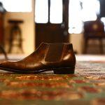 ENZO BONAFE (エンツォボナフェ) 【CARY GRANT III】Side gore Boots サイドゴアブーツ  MUSEUM CALF ドレスシューズ ドレスブーツ  DARK BROWN(ダークブラウン) made in italy (イタリア製)のイメージ