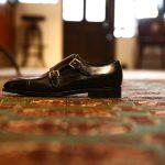 ENZO BONAFE (エンツォボナフェ) 【ART.EB-02】 Double Monk Strap Shoes ダブルモンクストラップシューズ VITELLO ドレスシューズ NERO (ブラック) made in italy (イタリア製)のイメージ