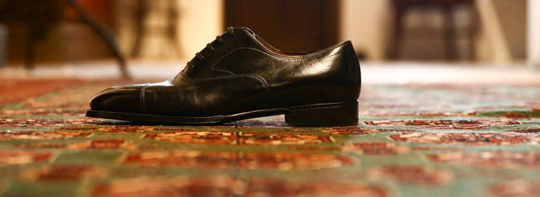 ENZO BONAFE (エンツォボナフェ) 【ART.EB-11】 Straight Tip Shoes ストレートチップシューズ ドレスシューズ NERO(ブラック) made in italy (イタリア製)のイメージ