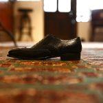 ENZO BONAFE (エンツォボナフェ) 【ART.EB-19】Wing Tip Shoes ウィングチップシューズ VITELLO ドレスシューズ NERO(ブラック) made in italy (イタリア製)のイメージ