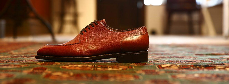 ENZO BONAFE (エンツォボナフェ) 【ART.EB-21】U-Tip Shoes Uチップシューズ VITELLO ドレスシューズ VOLPE(ブラウン) made in italy (イタリア製)のイメージ