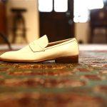 ENZO BONAFE (エンツォボナフェ) 【ART.EB-24】Penny Loafers ペニーローファー PETIT ZEBU ドレスシューズ BIANCO(ホワイト) made in italy (イタリア製)のイメージ