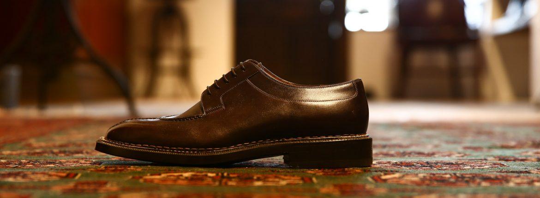 ENZO BONAFE (エンツォボナフェ) 【BERING】U-tip Shoes Uチップシューズ BETIS レザーシューズ ドレスシューズ EBQNY(ダークブラウン) made in italy (イタリア製)のイメージ