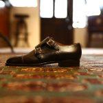 ENZO BONAFE (エンツォボナフェ) 【EB-27】Double Monk Strap Shoes ダブルモンクストラップシューズ INCA ドレスシューズ 8177(ブラック) made in italy (イタリア製)のイメージ