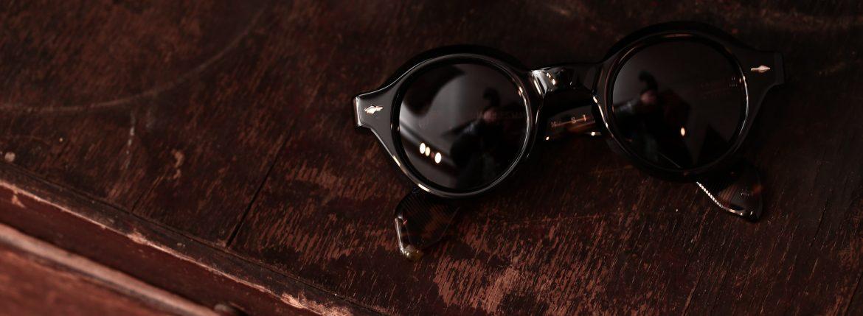 JACQUESMARIEMAGE(ジャックマリーマージュ) 【STENDHAL / スタンダール】  STERLING SILVER スターリングシルバー アセテートフレーム  ラウンド型 アイウェア サングラス NOIR (ノワール) HANDCRAFTED IN JAPAN(日本製) 2017 春夏新作のイメージ