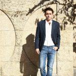 【BOGLIOLI MILANO / ボリオリ ミラノ】 【K.JACKET / Kジャケット】 コットンリネン アンコンジャケット 2Bジャケット NAVY (ネイビー・77) Made in italy (イタリア製) 2017 春夏新作のイメージ