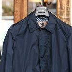 Sealup (シーラップ) Soutien Collar Coat ステンカラーコート ロング ナイロンコート NAVY (ネイビー・01) MADE IN ITALY(イタリア製) 2017 春夏新作のイメージ