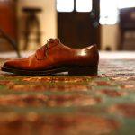 ENZO BONAFE (エンツォボナフェ) 【2911】Plane Toe Dress Shoes プレーントトゥードレスシューズ CORDOVAN コードバン ドレスシューズ No8(バーガンディー) made in italy (イタリア製)のイメージ