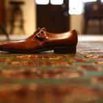 ENZO BONAFE (エンツォボナフェ) 【3583】Single Monk Strap Shoes シングルモンクストラップシューズ  DU PUY ドレスシューズ ETRUSCO(ウォルナット) made in italy (イタリア製)のイメージ