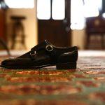 ENZO BONAFE (エンツォボナフェ) 【3918】Double Monk Strap Shoes ダブルモンクストラップシューズ VITELLO SUPERBUCK ドレスシューズ NERO(ネロ) made in italy (イタリア製)のイメージ