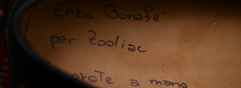 ENZO BONAFE (エンツォボナフェ) 【ART. EB-08】 Coin Loafer (コイン ローファー) LAMA ラマレザー ドレスシューズ ローファー NERO (ブラック) made in italy (イタリア製) 2017 春夏新作のイメージ