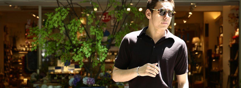 JACQUESMARIEMAGE(ジャックマリーマージュ) 【STENDHAL // スタンダール】 18K GOLD 18k ゴールドパーツ ラウンド型 アイウェア サングラス 【CUBA // キューバ】 HANDCRAFTED IN JAPAN(日本製) 2017 春夏新作のイメージ