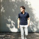 JOHN SMEDLEY (ジョンスメドレー) S3798 Polo Shirt SEA ISLAND COTTON (シーアイランドコットン) ポロシャツ NAVY (ネイビー)  Made in England (イギリス製) 2017 春夏新作のイメージ