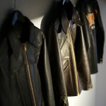 South Paradiso Leather (サウスパラディソレザー) East West イーストウエスト 【SMOKE / スモーク】 Cow Hide Leather カウハイドレザー レザージャケット BLACK (ブラック) MADE IN USA (アメリカ製)のイメージ